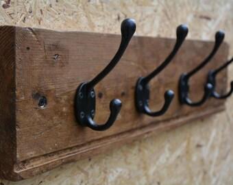 Coat rack timber rustic