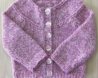 Jacket with raglan baby girl 0-6 months