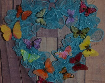 Butterfly Sky Wreath