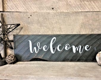 Reclaimed Wood Home Decor Sign