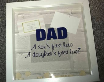 Dad - A Sons First Hero & Daughters First Love Frame