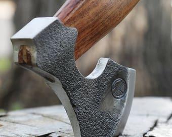 Viking Hatchet; Rough Finish