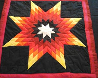 Native american baby star quilt