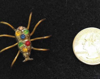 Art Deco Spider Brooch