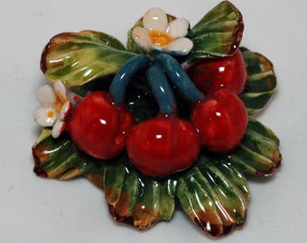 Traditional Sicilian Cherry Magnet
