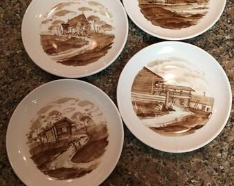 Arabia made in Finland Scenic plates