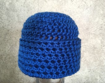 Royal Blue Stocking Cap