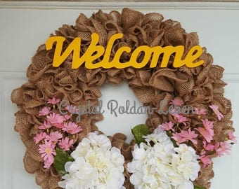 Spring & Summer Welcome Wreath