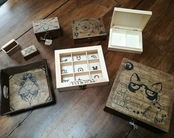Custom wooden objects