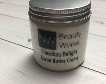 Chocolate Delight Cocoa Butter Creme 4 oz | Smells like a chocolate candy bar!