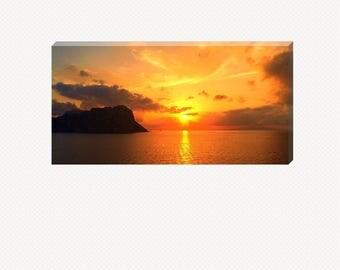 Italian Sunset Canvas