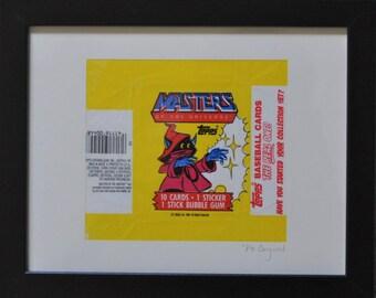 Original 1984 Artwork: He-Man (Orco)