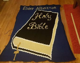 Holy Bible Twin Blanket