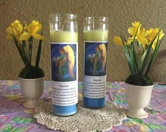 Archangel Raphael Healing Candles