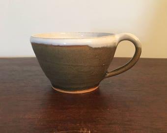 Green-Glass Teacup