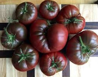 Cherokee Purple Tomato Seeds, FREE SHIPPING, Heirloom Seeds, 40 seeds, Rabbit Rescue Donation