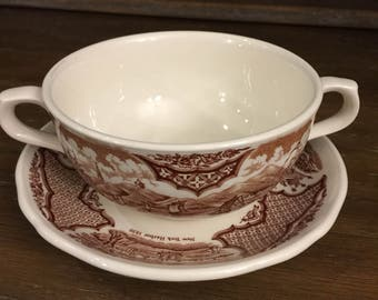 Alfred Meakin Fair Winds Canton Port Cup and Saucer