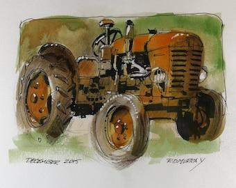 Farm Tractor 0006
