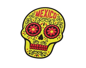 Mexico City Mexico Travel Patch
