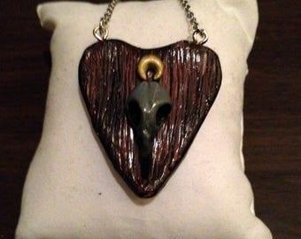 Ouija planchett necklace