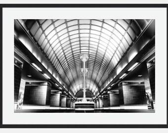The London Underground Gants Hill Tube station