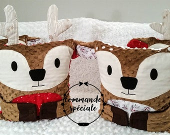 Hug-Me Pillow, Cushion - Deer - CUSTOM MADE