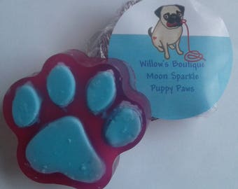 Puppy paw soaps!