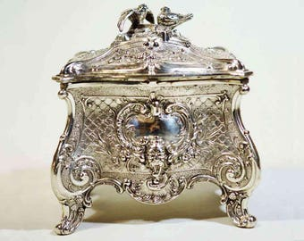 Reserved for Nancy-Antique WMF Jewellery Box