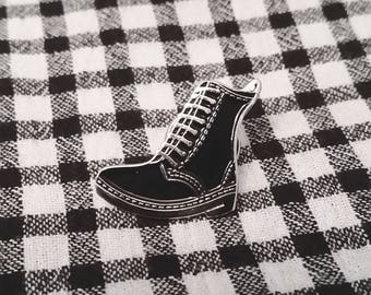 Dr Martens Style Enamel Boot Pin