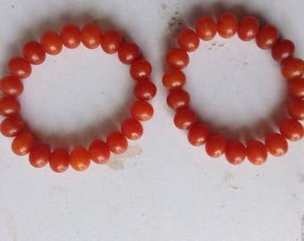Natural Beads bangle