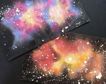 Nebulae, original watercolor