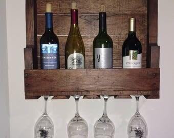 Wine Rack, Wine Shelf, Wine Glass