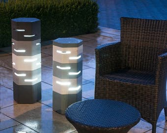 Holix III Modern ambient lighting for gardens, courtyards, patios and conservatories