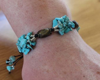 hematites multi-strand bracelet