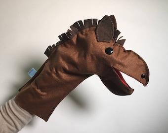 Joy Horse Puppet Necklace Frisky Baby Horse Pendant