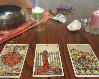 Personalized 3-Card Tarot Reading