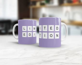 Personalized Scrabble Mug