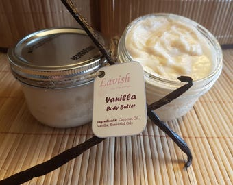 Coconut and Vanilla Body Butter