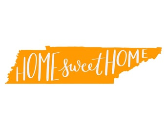 Home Sweet Home TN Print