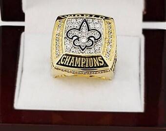 Custom Replica 2009 New Orleans Saints Super Bowl Ring....Alloy