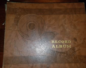 Vintage record album