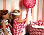 American Girl Birthday Party Pinata Play Set for 18 inch Doll- Star Theme