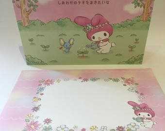 My Melody Pop Up Birthday Card with envelope