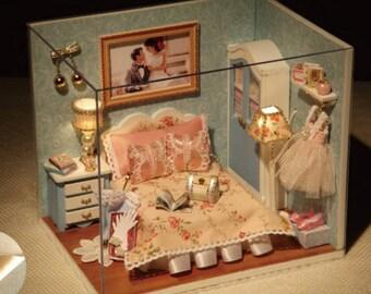 Miniature model of dream house