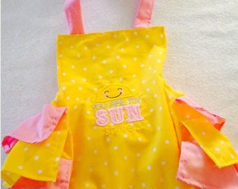 Romper,sunshine,sunsuit, boutique, nb, 3,6,9,12,24 months, 2,3t
