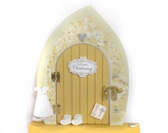 Christening fairy door