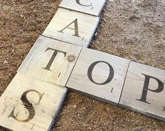 Large Scrabble Tiles