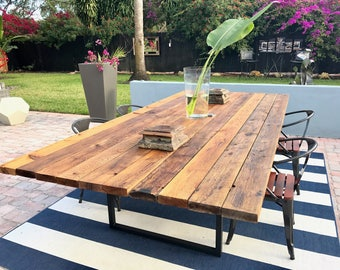 Spectacular 10 ft Cedar Outdoor Table - The Focal Point of Your Outdoor Area