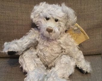 Hand-made Limited Edition Collector's Mohair Teddy Bear