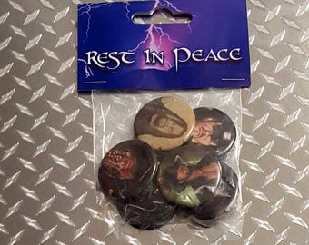 The Undertaker custom button pack